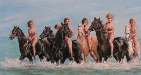 Paarden mijn favoriet onderwerp
